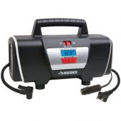 Husky 12-Volt / 120-Volt car and home Inflator
