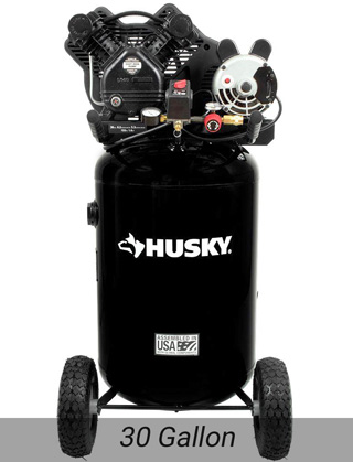 Husky 30 Gallon Air Compressor, C302H